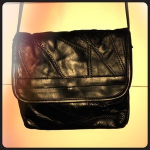 Quilted crossbody purse